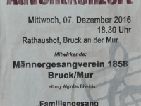 Adventkonzert am 07.12.2016